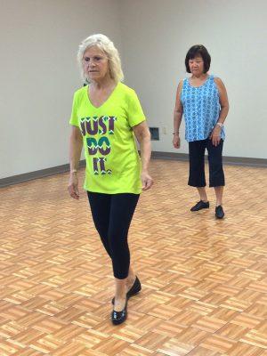 line-dancers